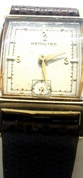 Hamilton Other - Vintage men's Hamilton Watch YG FILLED CASE
